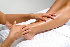 Voet-onderbeen-massage